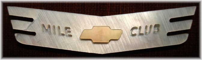 Chevy emblem pocket